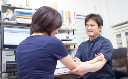 日本整形外科学会専門医による診察・治療